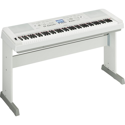 YAMAHA Piano Digital [DGX-650] - White - Digital Piano